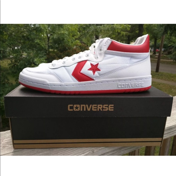 2c532395a393 Unisex CONVERSE CONS FASTBREAK  83 MID White Red